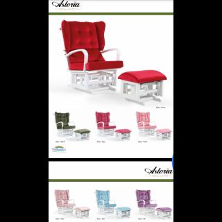Tahterevalli Стол за кърмене астория Astoria червен