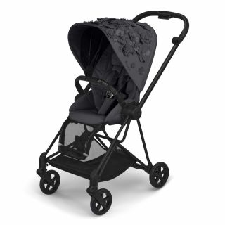 Тапицерия за луксозна седалка Cybex Mios Seat pack SIMPLY FLOWERS Dream Grey