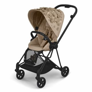Тапицерия за луксозна седалка Cybex Mios Seat pack SIMPLY FLOWERS Nude Beige