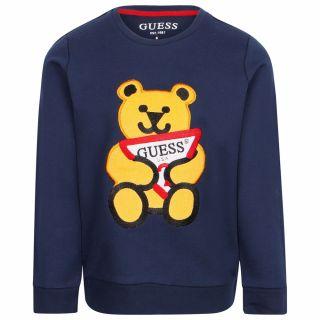 Guess детска блуза с мече за момче Guess Bear
