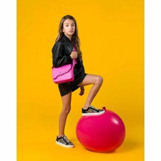 Guess детска чанта за рамо IVY Fuchsia