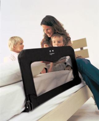 Babydan Преграда за легло-синя