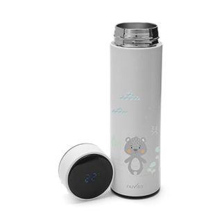 Термос с температурен дисплей 4455 Nuvita 500мл, бял