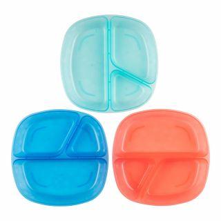 Комплект детски чинии с разделител Dr.Brown's Divided за хранене 3бр./оп.