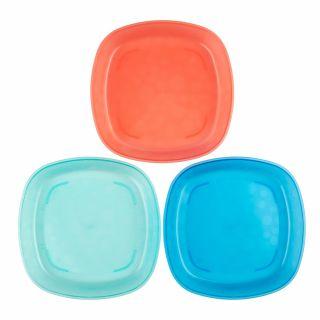 Детски чинии за хранене Dr.Brown's Happy Feeding ™ 3бр./оп.