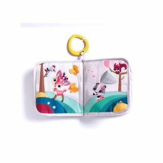 Tiny Love Малки умничета Where Do I Travel Book Tiny Princess (мека книжка) 3м+