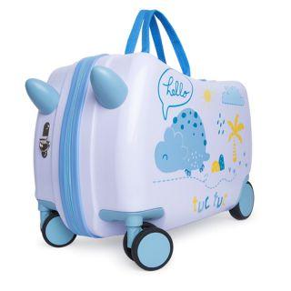 Tuc Tuc детски куфар за пътуване Trolley Hello Dino