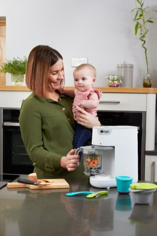 Tommee Tippee Уред за готвене на пара и блендер Quick-Cook