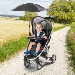 Универсален чадър за количка Reer ShineSafe, 84151, Черен
