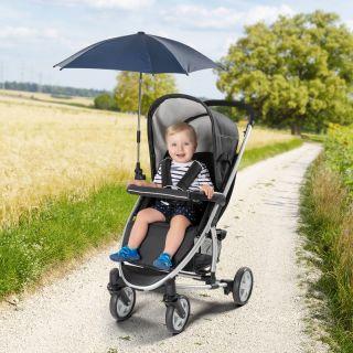 Универсален чадър за количка Reer ShineSafe, 84163, Син
