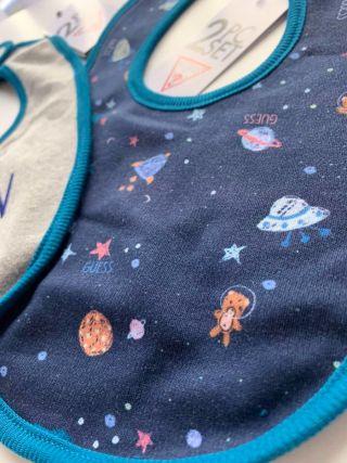 Guess комплект 2бр. бебешки лигавници Space