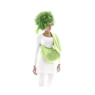 Wallaboo памучен слинг (3.5-15кг) зелен