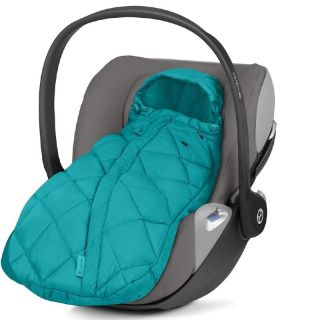 Cybex Универсален термочувал за кошница за кола, 35х75см Snogga Mini River Blue