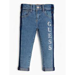 Guess детски дънки с щампа Guess