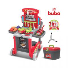 Buba Little Chef детска кухня червена
