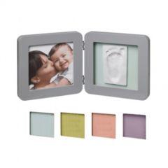 Baby Art Отпечатък Print квадратен бяла/сива рамка 4 цвята паспарту