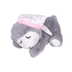 Interbaby Възглавничка за колики с черешови костилки + Плюшена играчка Pink Sleep Sheep
