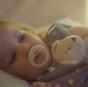 Tommee Tippee Ортодонтични залъгалки Breast-Like NIGHT 0-6м, 2бр/оп