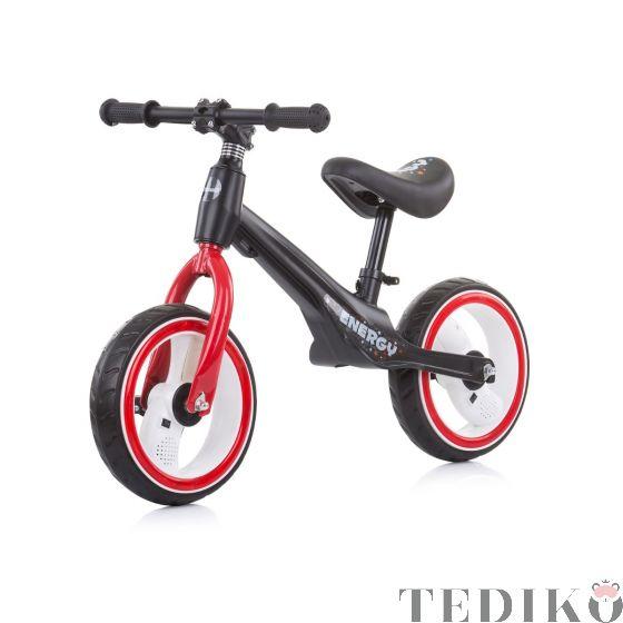 """Chipolino Детско музикално колело """"Energy"""", червен"""