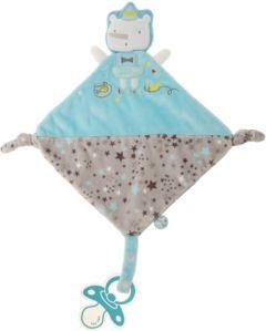 Tuc Tuc бебешка играчка гризалка DouDou Stories син