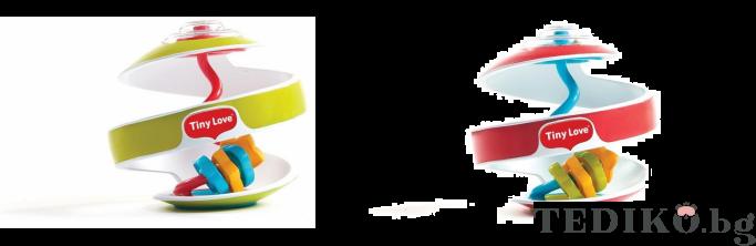 Tiny Love малки умничета Inspiral Spiral 0-12м; 2 цвята