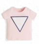 Guess детска тениска с лого и пайети