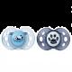 Tommee Tippee Ортодонтични залъгалки AnyTime 18-36м, 2 бр./оп., Сини Панди