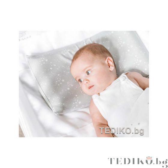 Tuc Tuc бебешка възглавница против задушаване, 0м+