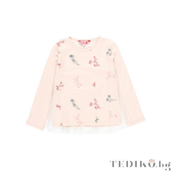 Boboli детска блуза с дълъг ръкав Ready To Wear