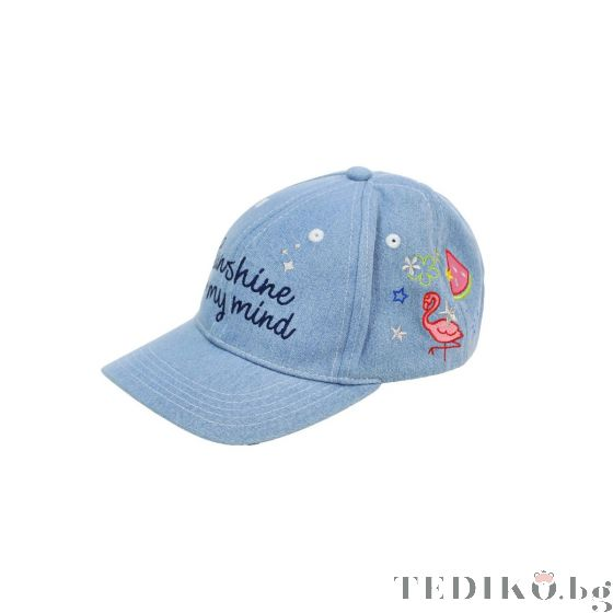 Boboli Детска шапка Деним Фламинго Sailor