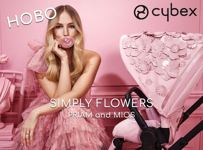 Cybex Simply Flowers Нова Колекция
