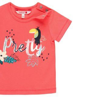 Boboli детска тениска за момиче Jungle explorer