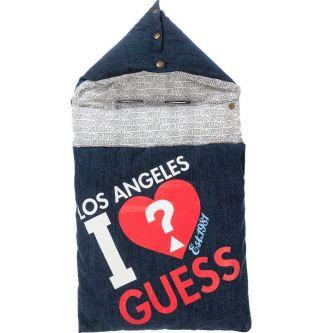 Guess бебешко чувалче за новородено Los Angeles