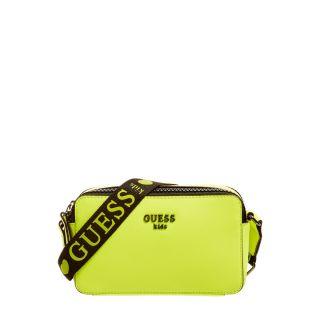 Guess Чанта през рамо Neon Yellow